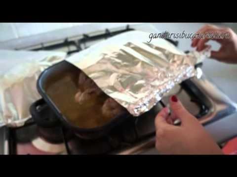 Lamb recipes (video)  Friptura de miel la cuptor - www.gandurisibucatareala.ro