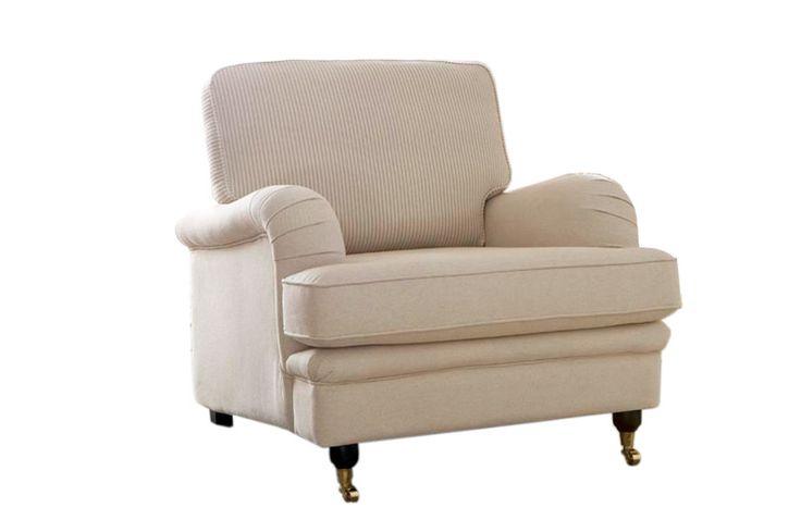 Klassisen kaunis Furninovan nojatuoli. Sekä kangasverhoilu että nahkaverhoilu.