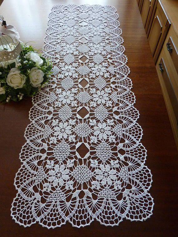 Tischdecke Aus Spitze Tischläufer Weiße Deckchen Häkeldeckchen