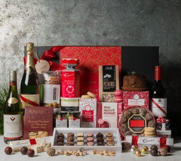 Corporate Christmas Gift Hamper Gift Hampers from Gourmet Basket. Corporate Christmas Gift Hamper. Corporate hamper delivery.