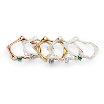 SLIM ROOT BAND w gemstones    www.nagicia.com  @nagicia.jewelry  @nagicia.lookbook