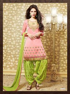 Indian Bollywood Style Punjabi Patiala Suit Partywear Punjabi Suit ...