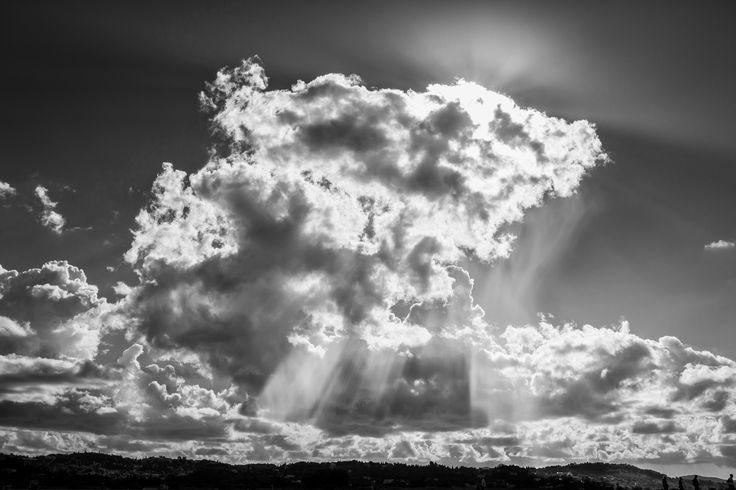 Clouds And Light - #stylianosphotography #clouds #black&white #blackandwhitephotography #corfu #corfuisland  #kerkyraisland #kerkyra #ionio #ionianislands #greece #greeceislands #stylianos_photography  #travel #traveller #travelling #traveling #tourism #tourist #landscape #landscapes #photography #photographer #night #sea #sky  #light #sunlight #sunrays Clouds