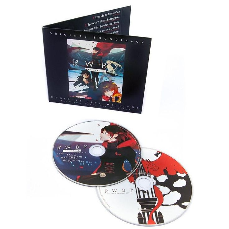 RWBY Volume 3 Soundtrack: 2 CD Set – Rooster Teeth Store