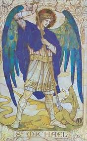 Michaelmas Sept 29- we tame the dragon of materialism