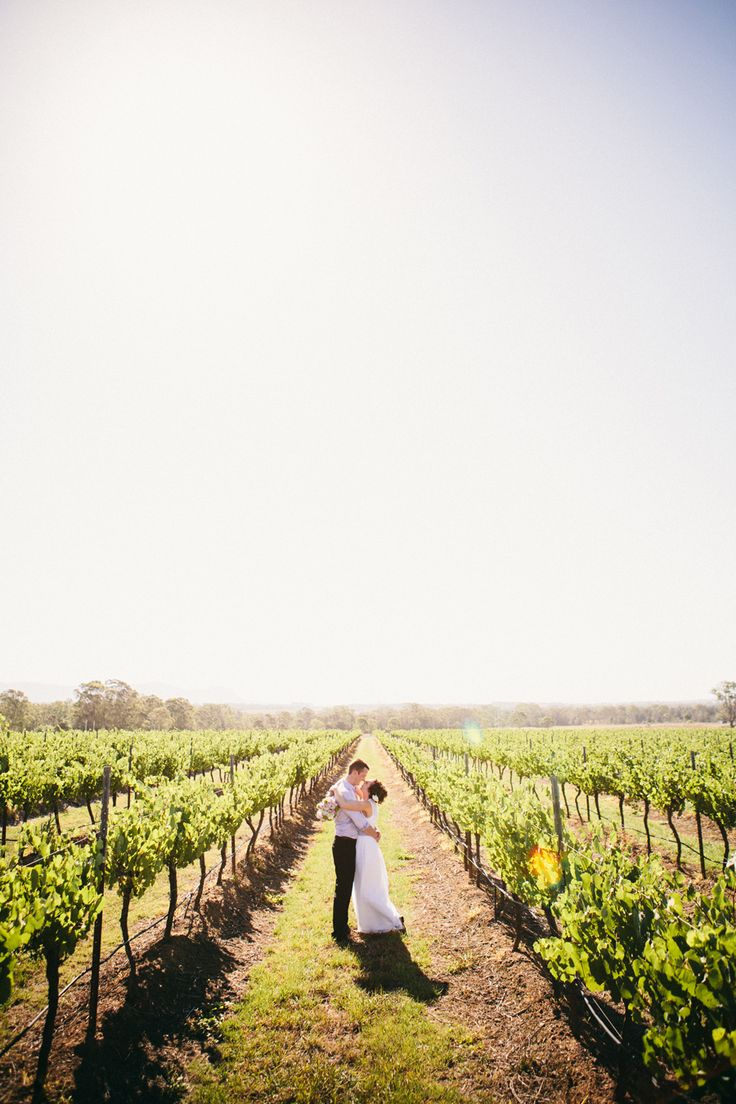 Love in the vineyards // Ballyhoo Photography