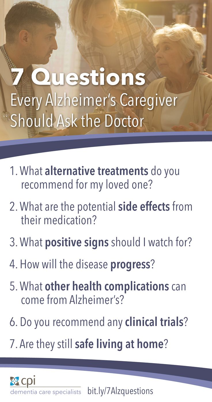 When the diagnosis is Alzheimer's, an ongoing conversation with your loved one's physician can help ensure person-centered, quality care. Click to learn more!
