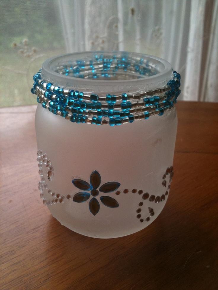 50 best baby jar crafts images on pinterest baby food for Baby food jar crafts pinterest