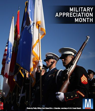 May is Military Appreciation Month. Military.com would like to thank you for your service: http://mil-com.me/1ki38yc #nmam