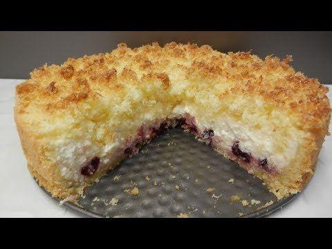 Творожный пирог Кудрявый