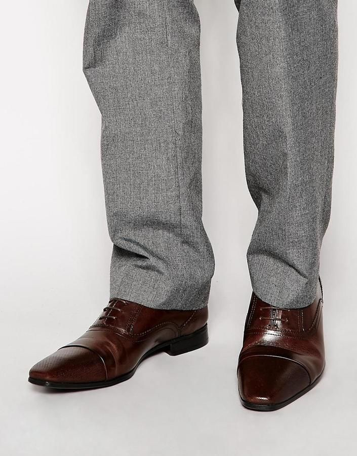 Asos Oxford Shoes in Leather on shopstyle.com.au