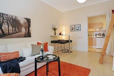 Naifandtastic:Decoración, craft, hecho a mano, restauracion muebles, casas pequeñas, boda: Espacios pequeños: Una casa de 32 metros cuadrados