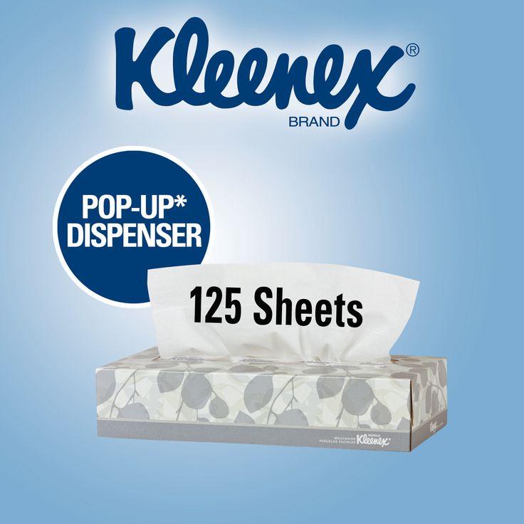 Kleenex Facial Tissues 2-Ply 1/125ct