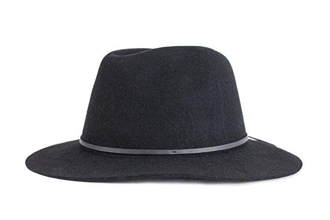 official photos a1697 2cc32 Brixton Men s Wesley Fedora Hat Review