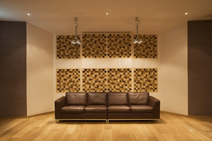 wood acoustic wall panels - Google Search