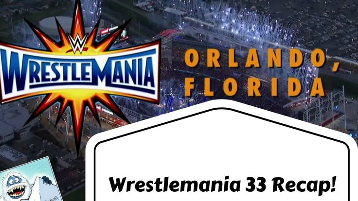 Wrestlemania 33 RECAP | SPOILERS (Cross-Fit Jesus is real!) Wrestlemania 33 is in the books and is a far better show than last year in just simple match-up booking alone. This is what I thought of the entire 7-hour event in only: 20 minutes