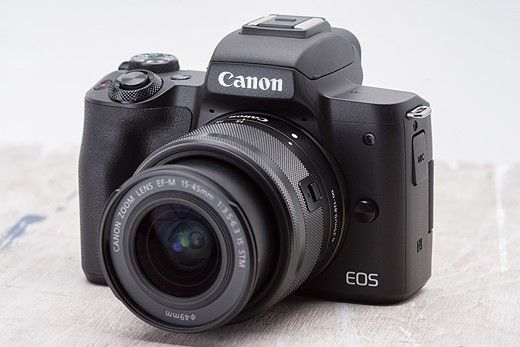 Canon EOS M50: What you need to know  Canon ESO M50: What you need to know  The Canon EOS M50 is the brand's beefier entry-level mirrorless camera slated above the comparatively compact EOS M100. Both sport APS-C sensors and single control dials but the M50 provides a 2.36M-dot EVF hotshoe and more substantial grip (similar to the EOS M5). An articulating touchscreen adorns the back and Canon's stellar Dual Pixel autofocus is available when shooting stills and video (in most settings... more…