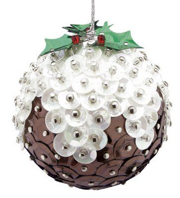 #palla di Natale da decorare con #paillettes e qualche #spillo. Semplice semplice!  Free Christmas Craft Ideas - Children's Christmas Crafts - Green Crafts - Ornaments | Art Craft Ideas  #xmas #decorations #diy #christmas #natale #idea #facile #faidate #easy #todo #decorazione #craft #kids #lavoretti #inspiration