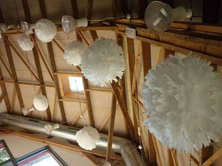 Boules en papier de soie