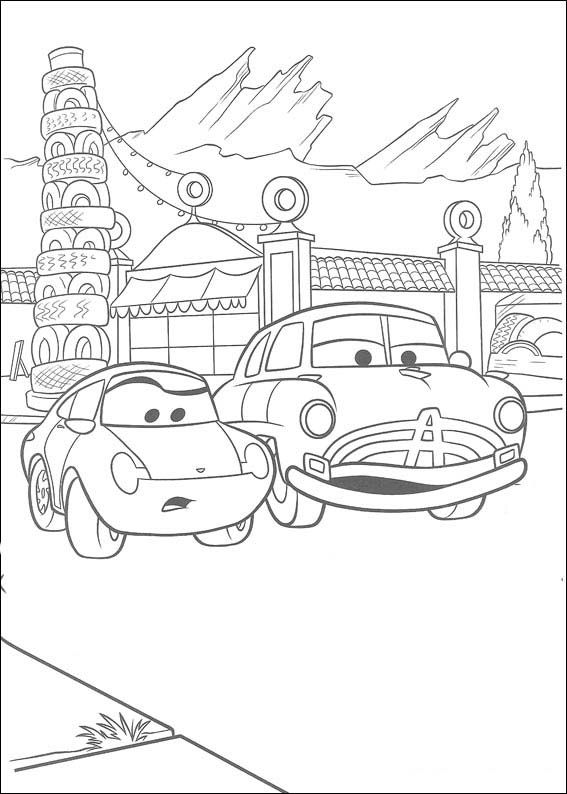 Pin Auf Cars Ausmalbilder Malvorlagen Zum Ausdrucken