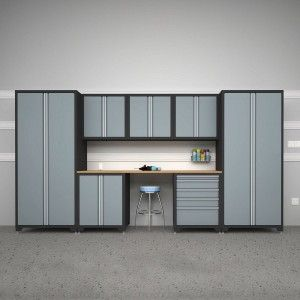 Exclusive Garage Idea With Lowes Storage Cabinets 8 Piece Ideas, And Garageu2026