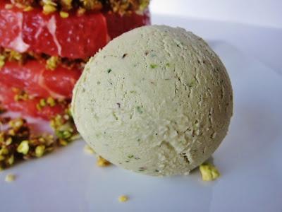raw lime avocado banana ice cream | Frosty Delights | Pinterest