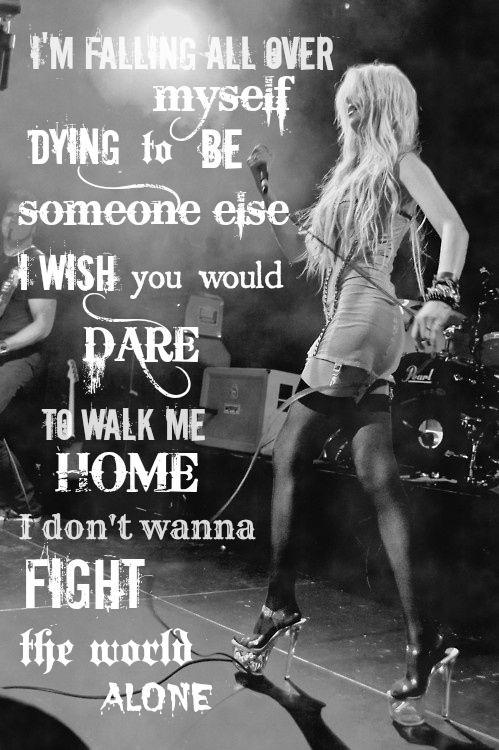 The Pretty Reckless <3 Taylor Momsen <3 Lyrics from their song ' Heart '