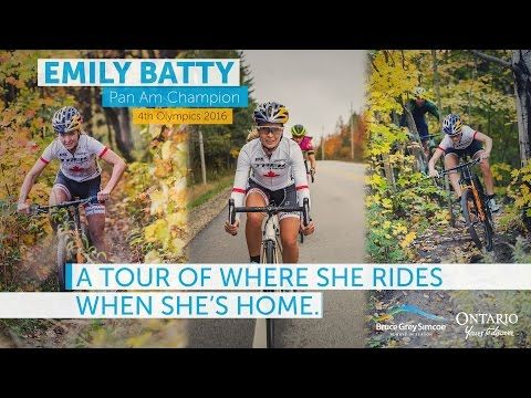 Emily Batty - Where She Loves to Tour in BruceGreySimcoe - YouTube