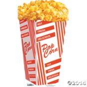 Popcorn Bag Stand-Up Decoration