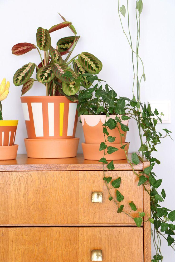 Vtwonen DIY bloempotten, fotografie & styling Marij Hessel
