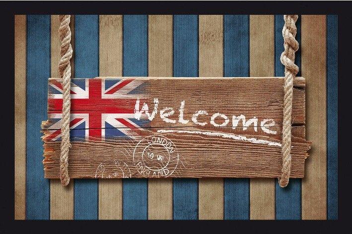 Bei matches21 bekommen Sie eine Matte mit englischer Flagge und einem Welcome zur Begrüßung. Für alle England-Fans ein absolutes MUSS. Hier wird der Fußabstreifer zu einem absoluten Highlight. Sie ist nicht nur dekorativ sondern auch nützlich. Sie fängt jeglichen Schmutz von den Schuhen auf und hält Ihre Wohnung sauber. Highlight: Maschinenwaschbar bei 30°C https://www.matches21.de/fussmatte-essence-welcome-englische-flagge-40x60cm-maschinenwaschbar/a-104023/