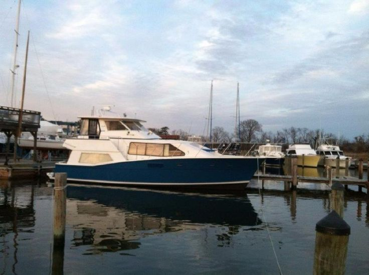 1987 Krogen 42 Silhouette Pilothouse Updated Electronics Power Boat For Sale -