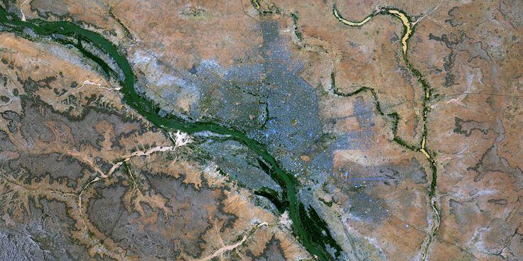 Niamey, Niger – PlanetSAT satellite image