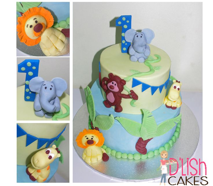 Baby Shower, Jungle Party theme,, 1st birthday Kids birthday Cake.  By D'lish Cakes Broadford www.dlishcakesbroadford.com.au