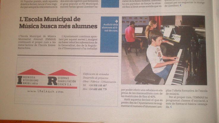 L'Eco de Sitges (01/08/2014)