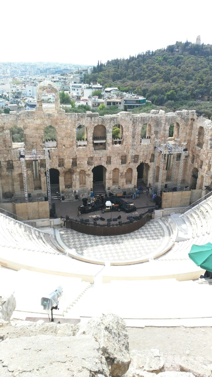The theatre #Athens