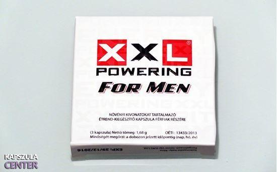 XXL Powering férfierő kapszula, hogy vágya XXL erős legyen. http://kapszulacenter.hu/xxl-powering