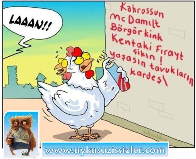 Karikatür: Mc Damılt Börgör Kink Kentaki Fırayt Çikın!