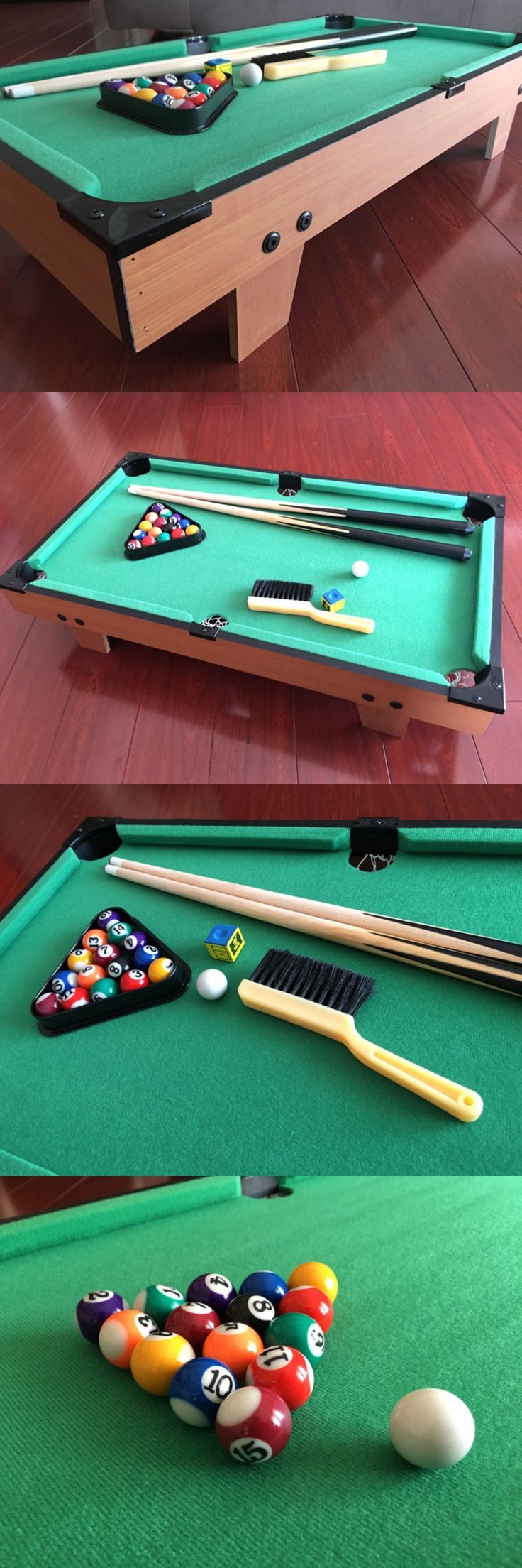 Pool table legs accessories for sale - Tables 21213 Table Top Pool Table Cue Balls Brush Accessories Billard Tabletop Indoor Games Buy It Now Only 79 3 On Ebay
