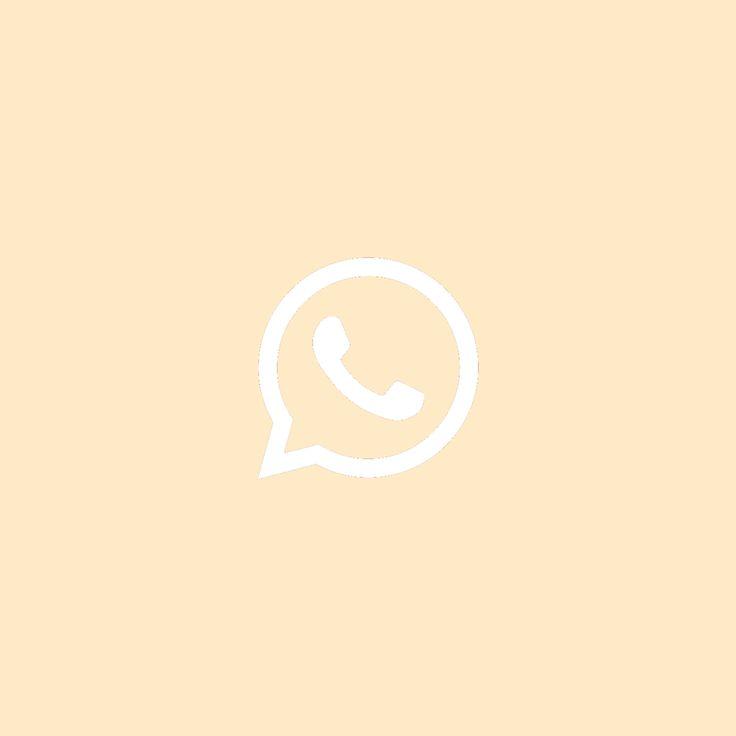 Whatsapp Logo Beige