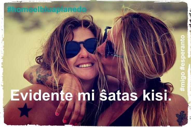 #migo #esperanto #kisi #ŝati #senlimo