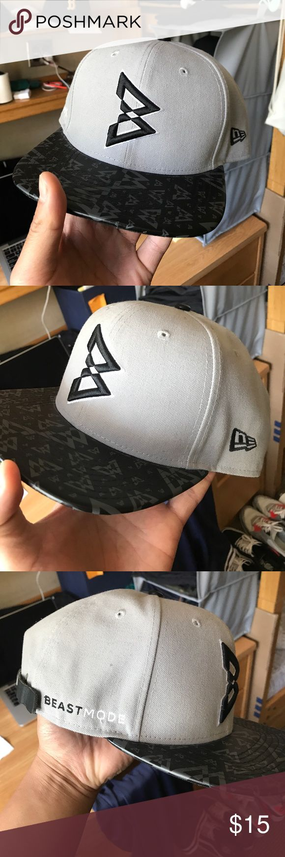New era 9fifty beast mode (marshawn lynch) Limited edition 9fifty collab wih marshawn lynch (seattle seahawks football player). Great condition New Era Accessories Hats