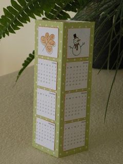 My Paper Paradise ...: Tower Calendar