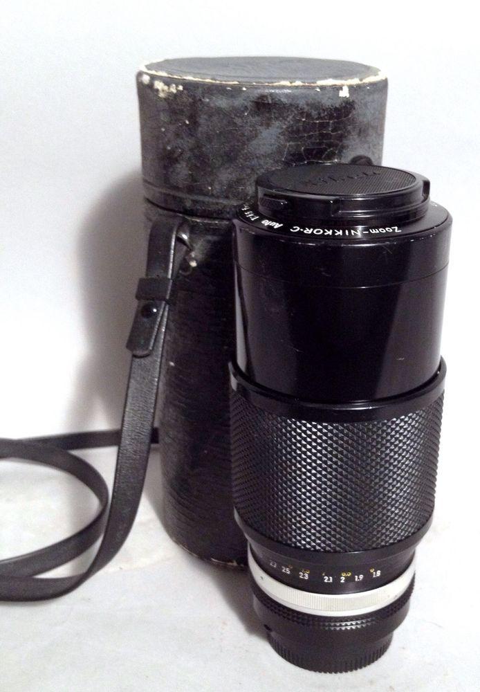 Nikon Zoom Nikkor•C 1 45 F 80 200mm Lens 187403 | eBay