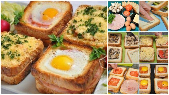How to DIY Mega Sandwich for Breakfast | www.FabArtDIY.com