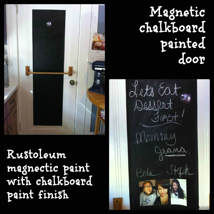 How to make chalkboard paint and magnetic chalkboard paint