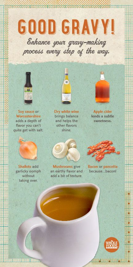 Want to concoct a slightly tricked-out gravy? #holiday #gravy #recipe