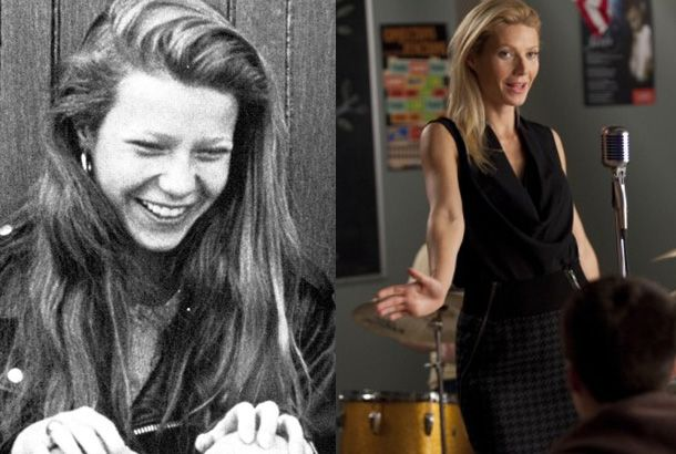 Gwyneth Paltrow 1990 (18) at Spence and Holly Holliday on Glee