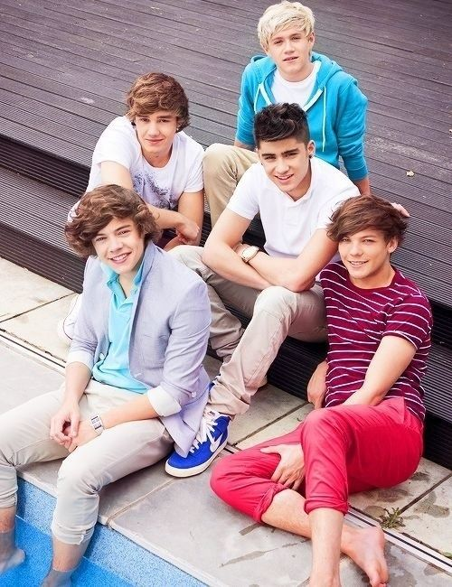 Day 1: I first found out about them when my overly-obssesed friend brought 1D posters to school and taped them on her desk. I later found out that one of my favorite songs (WMYB) was by the one and only One Direction!!!