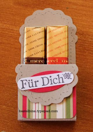 "Merci-Verpackung aus ""TwoTags"" doppelt"